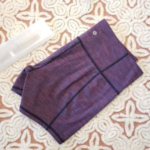 Lululemon Groove Short 10 Diamond Jacquard purple